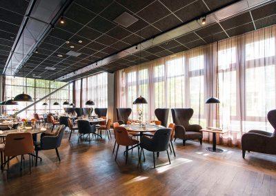 Restaurang P, Solna Port
